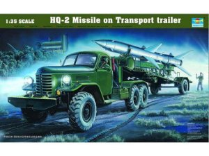 TRUMPETER 00205 - 1:35 CHN Hq-2 Missile With Loading Cabin