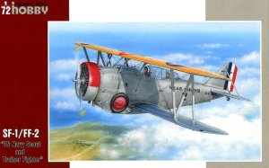 SPECIAL HOBBY 72244 - 1:72 SF-1/FF-2 US Navy Scout Fighter and Trainer