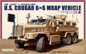 MENG MODEL SS005 - 1:35 U.S. Cougar 6×6 MRAP Vehicle