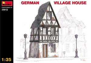 MINIART 35012 - 1:35 German Village House