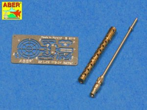 ABER 25L-02  - 1:25 Barrel for German machine gun MG34