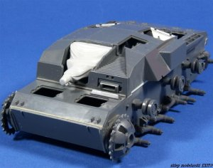 PANZERART 35177 - 1:35 Mantlet with canvas cover for StuG III B