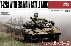 MODELCOLLECT UA72011 - 1:72 T-72B1 with ERA Main Battle Tank
