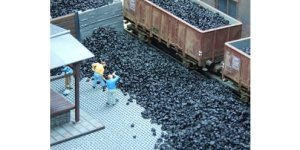JUWEELA 28135 - 1:87 Black coal 20 g