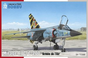 SPECIAL HOBBY 72388 - 1:72 Mirage F.1C/ C-200 Armee de l Air