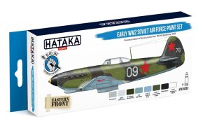 HATAKA BS33 - Early WW2 Soviet Air Force paint set