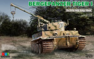 RYE FIELD MODEL 5008 - 1:35 Bergepanzer Tiger I Sd.Kfz.185 Italy 1944