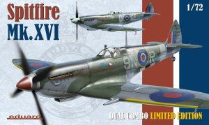EDUARD 2117 - 1:72 Spitfire Mk.XVI Dual Combo Limited Edition