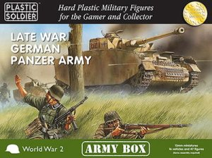 PLASTIC SOLDIER PSCAB15001 - 15 mm Late War German Panzer Army - Army Box