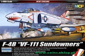 ACADEMY 12232 - 1:48 F-4B VF-111 Sundowners