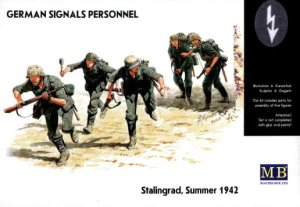 MASTER BOX 3540 - 1:35 German Signals Personnel, Stalingrad Summer 1942