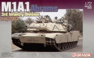 DRAGON 7215 - 1:72 M1A1 Abrams 3rd Infantry Division Iraq 2003