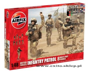 AIRFIX 03701 - 1:48 British Forces Infantry Patrol - Afghanistan