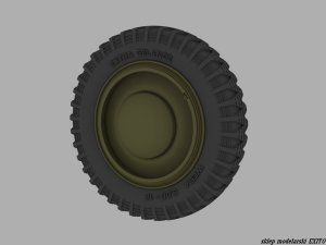 PANZERART 35203 - 1:35 Road Wheels for Kfz.1 Stover (Early Pattern)