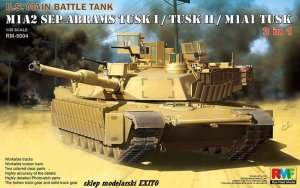 RYE FIELD MODEL 5004 - 1:35 M1A2 SEP Abrams TUSK I / II / M1A1