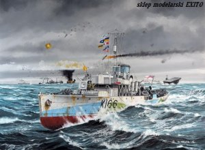 REVELL 05132 - 1:144 HMCS Snowberry Flower Class Corvette