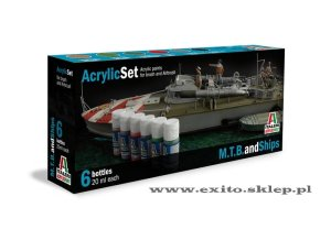 ITALERI 434 AP - M.T.B. and Ships - Acrylic Set