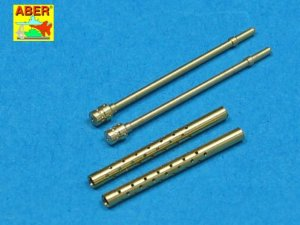 ABER A32012 - 1:32 Set of 2 Japanese barrels for 7,7mm Type 97 aircraft MG