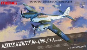 MENG MODEL LS001 - 1:48 Messerschmitt Me-410 B-2/U4 Heavy Fighter
