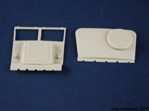PANZERART 35214 - 1:35 Bedford QLR Dust Cover set