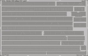 EDUARD 53041 - 1:144 Fletcher 1942 railings