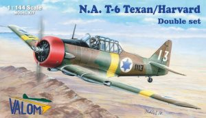 VALOM 14410 - 1:144 North-American T-6 Texan/Harvard - Double set