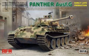 RYE FIELD MODEL 5018 - 1:35 Panther Ausf.G Early/ Late