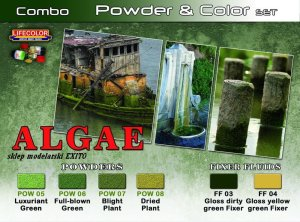 LIFECOLOR SPG 07 - Algae - Powder & Color Set