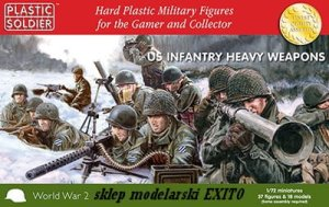 PLASTIC SOLDIER 20007 - 1:72 US Infantry Heavy Weapons 1944-45