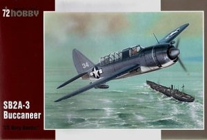 SPECIAL HOBBY 72179 - 1:72 SB2A-3 Buccaneer