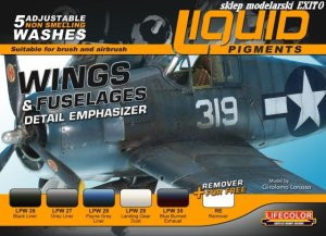 LIFECOLOR LP 06 - Liquid Pigments - Wings & Fuselage Detail Emphasizer