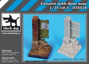 BLACK DOG D35029 - 1:35 Column with door - base
