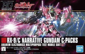 BANDAI 5056760 - 1:144 RX-9/C Narrative Gundam C-Packs - HG