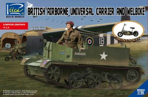 RIICH MODELS 35034 - 1:35 British Airborne Universal Carrier and Welbike