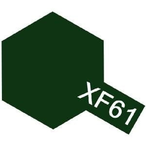 TAMIYA 80361 XF-61 - Color enamel paint Dark Green 10 ml