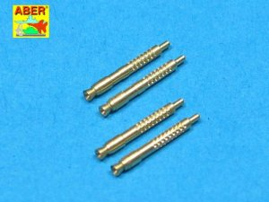 ABER A32011 - 1:32 Set of 4 German barrel tips for 13mm MG131