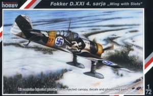 SPECIAL HOBBY 72116 - 1:72 Fokker D.XXI 4.Sarja Wing with slots