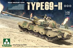 TAKOM 2054 - 1:35 Iraqi Medium Tank Type 69-II