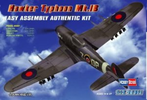 HOBBY BOSS 80232 - 1:72 Hawker Typhoon Mk.IB Fighter