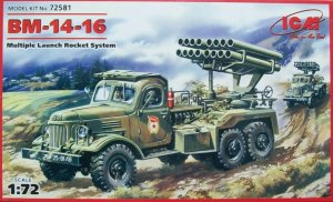 ICM 72581 - 1:72 BM-14-16, Multiple Launch Rocket System on ZiL-157 base