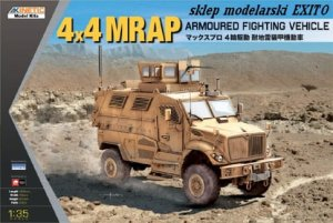 KINETIC 61011 - 1:35 4x4 MRAP Armoured Fighting Vehicle