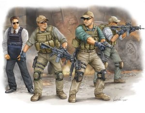 TRUMPETER 00420 - 1:35 PMC in Iraq VIP Protection