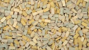 JUWEELA 28051 - 1:87 Bricks beige mix 3000 pcs