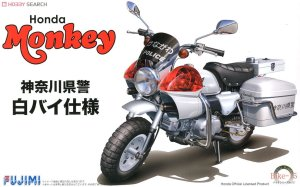 Fujimi 141480 - 1:12 Bike-No15 Monkey Police Bike