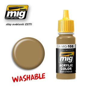 AMMO MIG 105 - Washable Dust (RAL 8000)