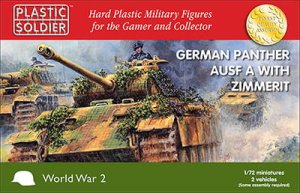 PLASTIC SOLDIER V20011 - 1:72 Panther Ausf A with zimmerit (2 pcs)
