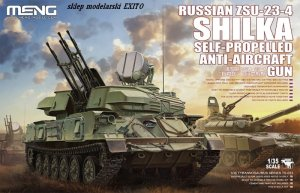 MENG MODEL TS023 - 1:35 Russian ZSU-23-4 Shilka Self-Propelled AA Gun