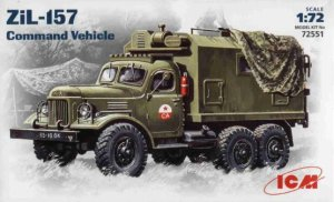 ICM 72551 - 1:72 ZiL-157, Command Vehicle