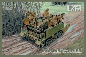 IBG 72025 - 1:72 Universal Carrier I Mk.II Mortar Carrier