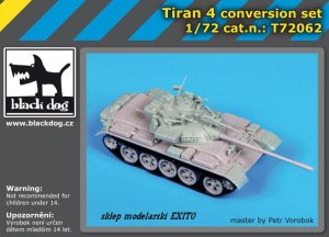 BLACK DOG T72062 - 1:72 Tiran 4 conversion set